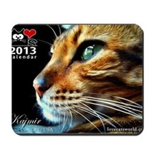 Cover Bengal Cat Close up Mousepad