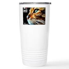 Cover Bengal Cat Close  Travel Mug