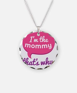 Funny Mommy Quote Necklace