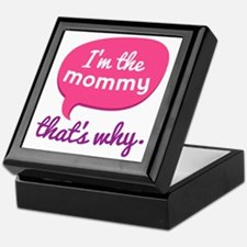 Funny Mommy Quote Keepsake Box