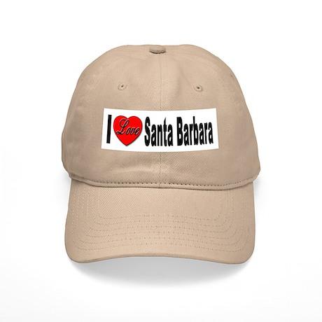 I Love Santa Barbara Cap