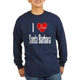 Santa barbara Long Sleeve T-shirts (Dark)