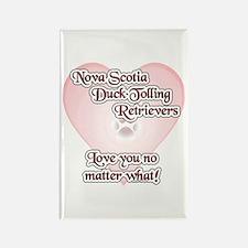 Toller Love U Rectangle Magnet