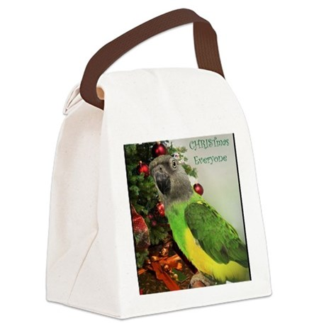 ChristmasSenegal Canvas Lunch Bag