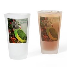 ChristmasSenegal Drinking Glass