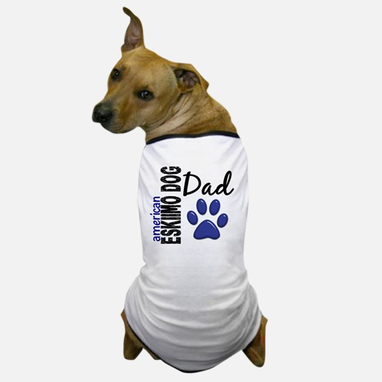 D American Eskimo Dog Dad 2 Dog T-Shirt
