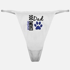 D American Eskimo Dog Dad 2 Classic Thong