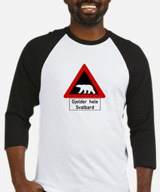 Polar Bear, Svalbard - Norway Baseball Jersey