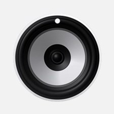 BASS (Speaker) Round Ornament
