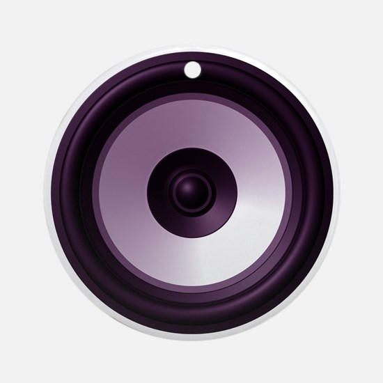BASS (Speaker) Round Ornament
