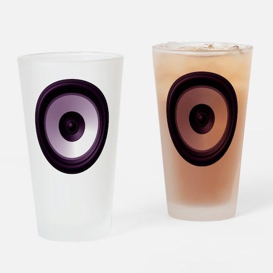 BASS (Speaker) Drinking Glass