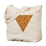 Rustic Triangle Knot Tote Bag