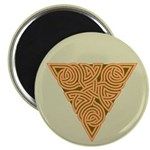 "Rustic Triangle Knot 2.25"" Magnet (100 pack)"