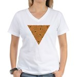 Rustic Triangle Knot Women's V-Neck T-Shirt