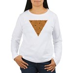 Rustic Triangle Knot Women's Long Sleeve T-Shirt
