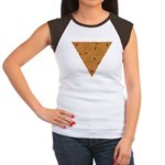 Rustic Triangle Knot Women's Cap Sleeve T-Shirt