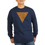Rustic Triangle Knot Long Sleeve Dark T-Shirt