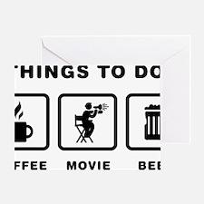 Movie-Director-ABH1 Greeting Card