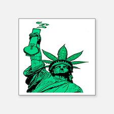 """Legalize America Square Sticker 3"""" x 3"""""""