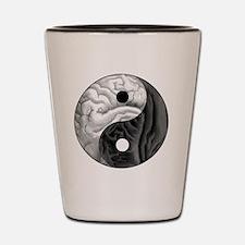 Yin Yang Brain Shot Glass