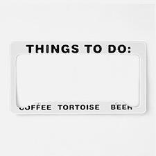 Tortoise-Lover-ABH1 License Plate Holder