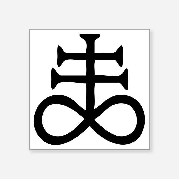 Satanic Cross Bumper Stickers Car Stickers Decals Amp More