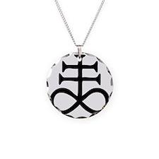 Satanic Cross Necklace
