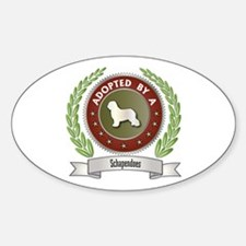 Schapendoes Adopted Oval Decal