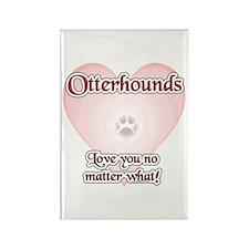 Otterhound Love U Rectangle Magnet