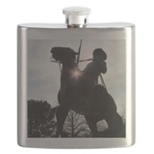 Buffalo Soldier Flask