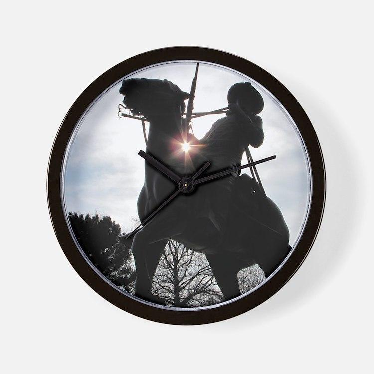 Buffalo Soldier Wall Clock