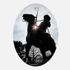 Buffalo Soldier Oval Ornament