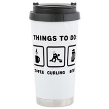 Curling-ABH1 Travel Coffee Mug