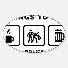 Policeman-ABH1 Sticker (Oval)