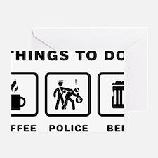 Policeman-ABH1 Greeting Card