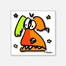 "Jake Square Sticker 3"" x 3"""