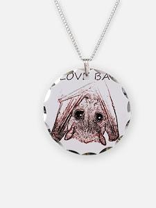 I LOVE BATS Necklace