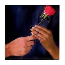 The Rose Exchange Tile Coaster