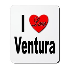 I Love Ventura Mousepad
