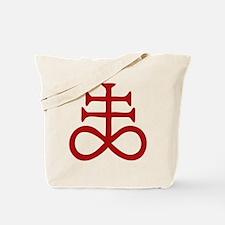 Satanic Cross Tote Bag