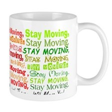 Physical Therapy WILL MOVE YOU Orange G Mug