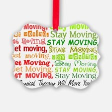 Physical Therapy WILL MOVE YOU Or Ornament