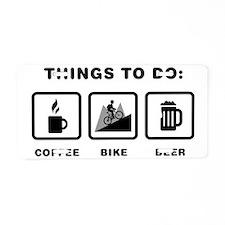 Mountain-Biking-ABH1 Aluminum License Plate