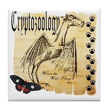 Cryptozoology Wild Things Tile Coaster