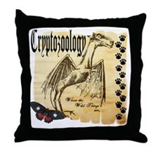 Cryptozoology Wild Things Throw Pillow