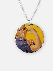 Rosie The Riverter Necklace
