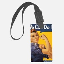 Rosie The Riverter Luggage Tag