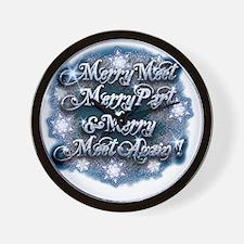Frosty Merry Part - Wall Clock
