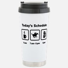 Horse-Racing-ABI1 Stainless Steel Travel Mug