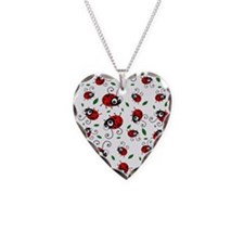 Cute Ladybug pattern Necklace